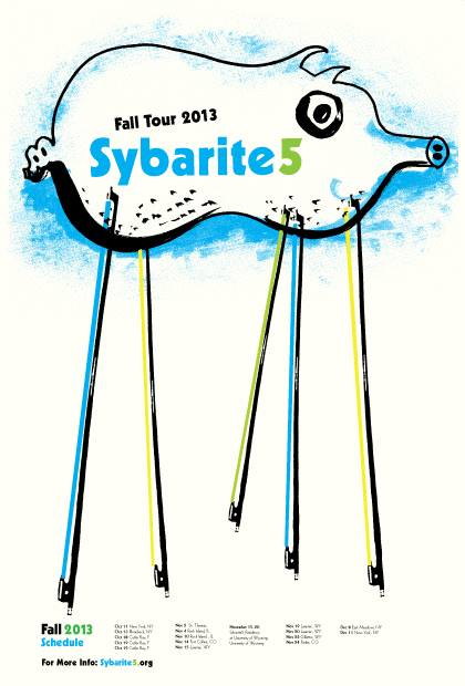 Sybarite5 2013 Fall Tour
