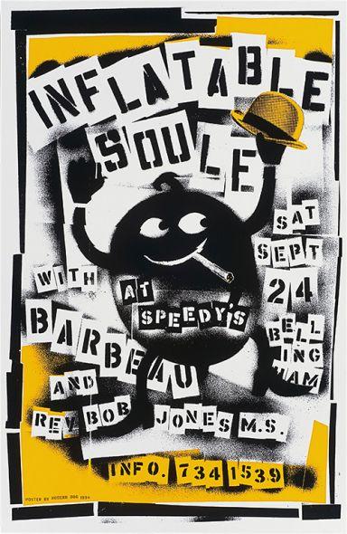 Inflatable Soule, Barbeau, + Rev. Bob Jones