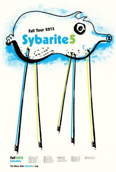 Sybarite5 2013 Fall Tour
